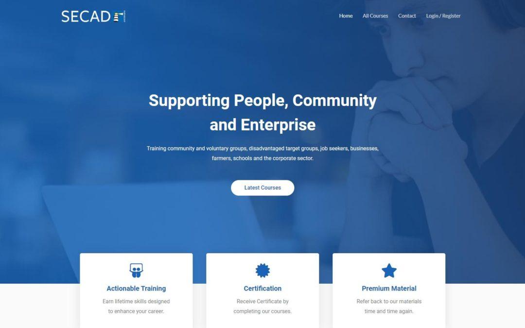 SECAD Training Website